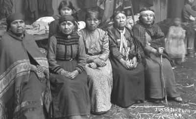 Snohomish women @ the Tulalip Confederated Tribes Reservation